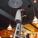 ceiling cleaning business